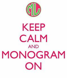 Monogram On