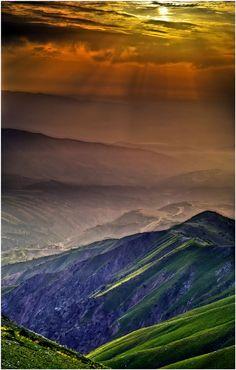 Chimgan Mountains HDR, Uzbekistan  C h i m g a n … by my-shots