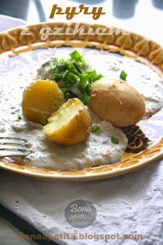 Bona Apetita! blog kulinarny, wnętrza, żyj ze smakiem!: Pyry z gzikiem czyli witam w Wielkopolsce Polish Food, Polish Recipes, Poland, Cheese, Blog, Polish Food Recipes, Blogging