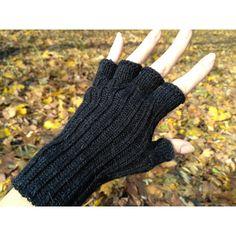 Womens gloves half finger gloves alpaca gloves wool gloves hand knit... (105 PEN) ❤ liked on Polyvore featuring accessories, gloves, wool gloves, alpaca gloves, hand knit gloves, wool fingerless gloves and hand knitted fingerless gloves