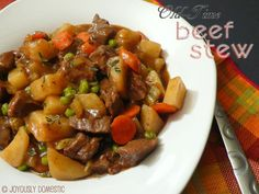 Joyously Domestic: PD's Old-Time Beef Stew