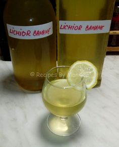 Lichior De Banane - Recipes By Monique Wine, Drinks, Recipes, Food, Image, Drinking, Beverages, Meal, Food Recipes
