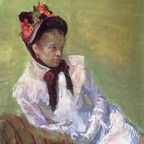 Born on May 22, 1844, in Allegheny City, Pennsylvania, Mary Cassatt was one of the leading artists in the Impressionist movement of the later part of the 1800s. Moving to Paris, her home for the rest of her life, she was befriended by Edgar Degas. After 1910, her increasingly poor eyesight virtually put an end to her serious painting, and she died in 1926.