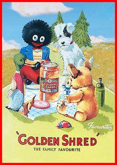 Golden Shred Marmalade RETRO Vintage Advert METAL Wall Sign Plaque poster print