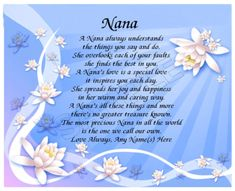 17 Best Nana Poems Images Thinking About You Frases