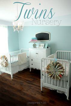 twins nursery @Jessica Steggell