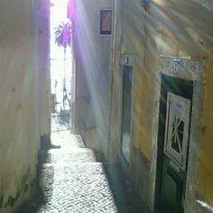 Beco em Lisboa