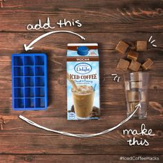 Looking to cool off this Memorial Day? Here's a quick tip for the perfect addition to your BBQ. Coffee Break, Coffee Time, International Delight Iced Coffee, Coffee Ice Cubes, Iced Mocha, Bar Drinks, Beverages, Coffee Recipes, Drink Recipes