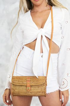 *Ships in weeks*Imported Basket Bag, 3 Weeks, Cross Body, Ships, Natural, Bags, Stuff To Buy, Outfits, Clothes