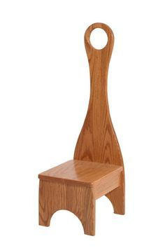 Solid Wood Step Stool with Handle Small Woodworking Projects, Wooden Projects, Diy Woodworking, Wood Crafts, Diy Stool, Stool Chair, Shaker Furniture, Diy Furniture, Kitchen Step Stool