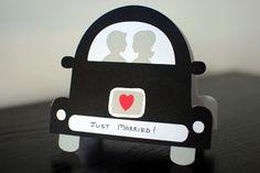 Handmade cricut wedding card - Google Search
