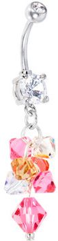 #Body Candy               #ring                     #Handcrafted #Austrian #Crystal #Pink #CASCADING #Drop #Belly #Ring #Body #Candy #Body #Jewelry         Handcrafted Austrian Crystal Pink CASCADING Drop Belly Ring   Body Candy Body Jewelry                                             http://www.seapai.com/product.aspx?PID=1194285
