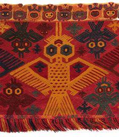 cosmicportal:    Pre Inca textile (Peru)