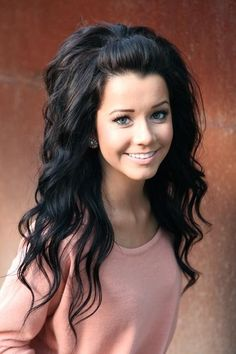 I wish my hair was this thick. Love it!  Pretty Hairstyles for Black Hair: Lovely Princess Look