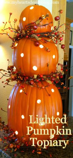 Michaels Halloween String Lights : 1000+ images about Home Decorating: Fall on Pinterest Kitchen counters, Sugar pie and Autumn ...