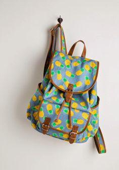 pineapple backpack.