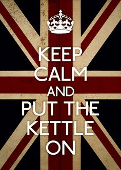 Ok, first I'm gonna have to get a kettle. And THEN, oh it's gonna be on!!