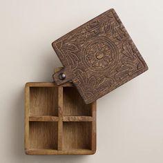 Wooden Spice Box | World Market