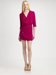 Diane Von Furstenberg Rachel Lily Crepe Dress - Lyst