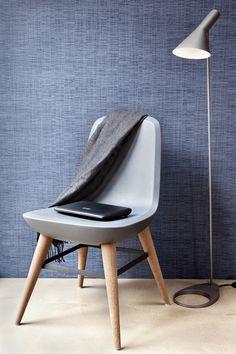 Behang blauw Chacran Wallpaper blue Chacran - BN Wallcoverings 46084 46082