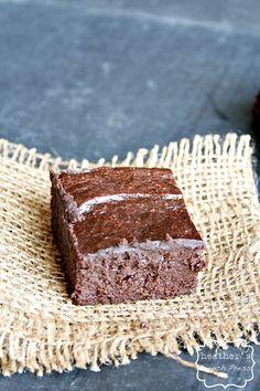 avocado brownies - NO flour No butter