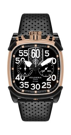 New from the Italian watch brand CT Scuderia, the Scrambler is a series of chronographs. Modern Watches, Luxury Watches, Cool Watches, Rolex Watches, Watches For Men, Cafe Racer, Watch Sale, Watch Brands, Fashion Watches