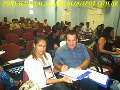PORTAL DE ITACARAMBI: Prefeito Ramon e a Secretária Elisângela participa...