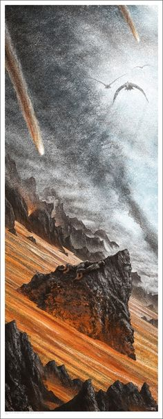 """""""Lord Of The Rings"""" Mondo Posters"""