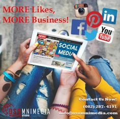 We provide affordable social media management services for all businesses. Our team is adept at creating advertisements and marketing on these social media platforms. Such as Facebook, Twitter, LinkedIn, Pinterest, Instagram and YouTube. We can help you tell your story in ways that get seen, shared, liked, hearted, pinned, and clicked. Your Story, Platforms, Advertising, Told You So, Management, Social Media, Marketing, Facebook, Twitter