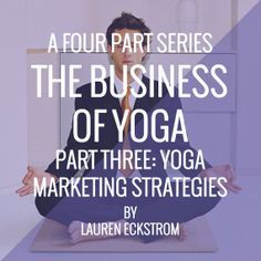 The Business of Yoga: Marketing Strategies www.yogatraveltree.com #findyouryoga are some good ideas and strategies! This is what #coworking #collaboration and #marketing #strategies can combine for success! @SpherePad