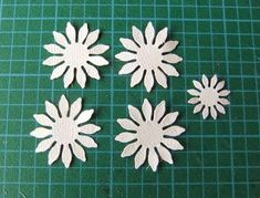 Hello!   I've had a couple of requests to do a tutorial on how to make the clover flowers that I've added to my Just Be'cow'se card that I...
