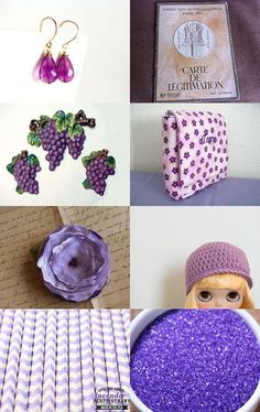 My vintage Paris train passport map is featured in this treasury. The perfect shade of purple by Michael Carty on Etsy--Pinned with TreasuryPin.com
