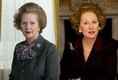 Margaret Thatcher, Meryl Streep  'Iron Lady'
