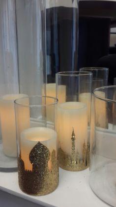 Ramadan candle holders..