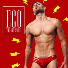 Reposting @ecothemenstore: Miércoles con energía rojo pasión ⛑, sorpréndelo a mitad de semana . Las mejores prendas y tendencias a nivel mundial!! Ahora en Colombia  #gay #gays #mensfashion #men #menstyle #followforfollow #followforfollow #followme #followback  #underwear #sexy #fitness #fit Lean Body, Beautiful Men, Underwear, Gay, Fitness, Swimwear, Colombia, Trends, Cute Guys