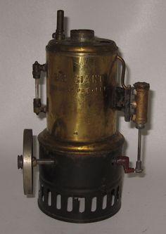 Antique Weeden Steam Engine No 20 Big Giant Brass Boiler #BP45