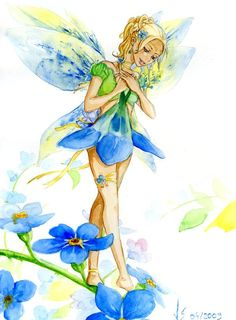 Forget Me Not Fairy .. b