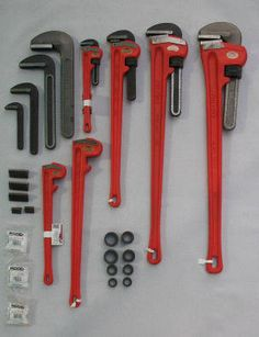 RIDGID stock available. Complete units and parts. Tools and Things has a large stock base for RIDGID tools and it's spares. Complete pipe wrenches | 35552507