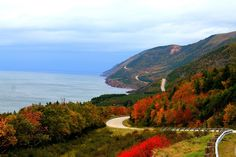 Cabot Trail, Nova Scotia One of the most beautiful road trips Beautiful Roads, The Beautiful Country, All About Canada, Cabot Trail, Enchanted Island, Cape Breton, Canada Travel, Nova Scotia, Countries Of The World