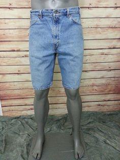 Levi's Jeans 550 Relax fit shorts Men's size 36 light wash #Levis #Denim