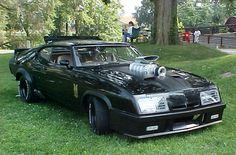 ◆ Visit MACHINE Shop Café... ◆ ~ Aussie Custom Cars & Bikes ~ Mad Max 1973 XB Ford Falcon GT