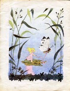 Kawaii, Fairy Tales, Fantasy, Classic, Illustration, Prints, Inspiration, Painting, Sweet