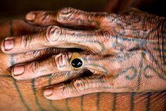 mentawai tribe, sumatra, indonesia