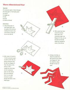 Danish Crafts - Three Dimensional Star pg. 1