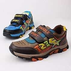 Boys' Shoes Comfort Flat Heel Fashion Sneakers with Magic Tape More Colors available
