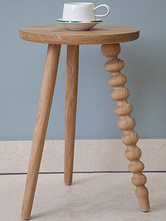 Love a wood turned piece; modern or traditional. #Galvinbrothers