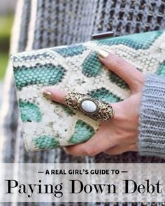 Goal Setting: Have you made it your goal to pay off your student loans? Pay off your student loan debt even fast with our real girl's guide to paying down debt. Debt, Debt Payoff #Debt