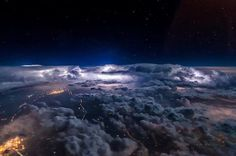 Very heavy thunderstorms over Eastern China last week. The bright moon and the continuous lightning strikes make it a spectacular show from above.  #weather #instaweather #storm #lightning #thunder #cloud #clouds #cloudporn #aviation #avgeek #flight #flying #nightflight #nature #jpcvanheijst #nikon #d800 #instalike #instacool #thunderstorm