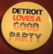 Detroit loves a good party ;)