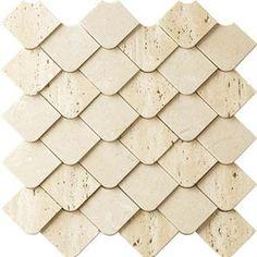 Alvorada Mix Bege Marble Tiles - Mosarte Brasil